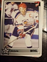 1991   Victoria Cougars Team Card
