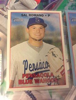 2016 Topps Heritage Minors  Sal Romano