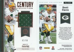 2018 Panini Encased Century Collection Materials #CC-BF Brett Favre