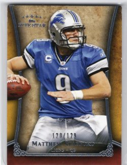 2011 Topps Five Star Matthew Stafford