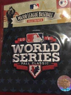 2012  Genuine MLB Patch            World Series Detroit Tigers vs SanFran Giants