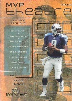 2000 Upper Deck MVP Steve McNair