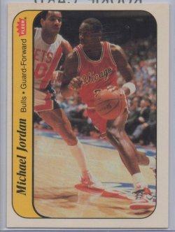 1986-87 Fleer Stickers Michael Jordan