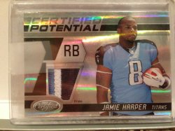 2011 Panini Certified Jamie Harper Patch