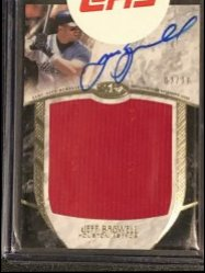 2016 Topps Topps Tier One Prodigious Patches Autographs #APPJB Jeff Bagwell
