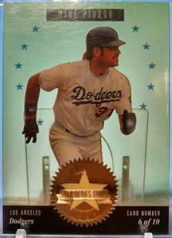 1994 Donruss Studio Mike Piazza series stars gold