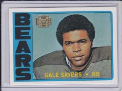 Gale Sayers 2001 Topps Archives 1972 Reprint