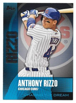 2013 Topps Topps Chasing the Dream Anthony Rizzo