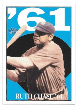 2010 Topps Topps Heritage Ruth Chase 61 Babe Ruth