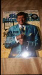 2016   Craig Sager 8x10 Sports Illustrated Cover Photo IP Autograph