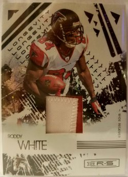 2009 Panini Rookie & Stars 2 Color Patch Roddy White