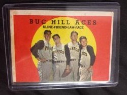 1959 Topps  Buc Hill Aces Rob Kline, Bob Friend, Vern Law, and Roy Face