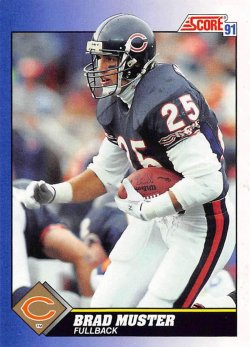 1991  Score Brad Muster