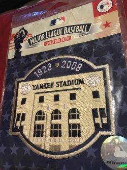 2008  Genuine MLB Patch  OLD YANKEE STADIUM 1923-2008