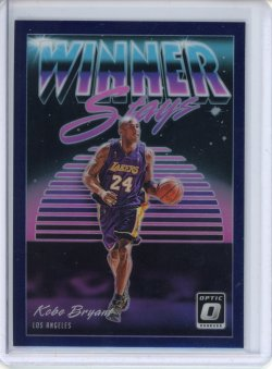 2018-19 Donruss Optic Kobe Bryant Winner Stays Purple