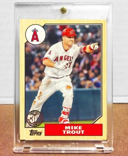 2017 Topps  Mike Trout