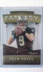 2014 Panini Prestige Fantasy Team Drew Brees