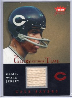 2004 Fleer Fleer Greats Gale SayersGlory of Their Time Jersey