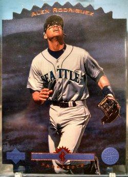 1996 Upper Deck  Alex Rodriguez blue chip prospect