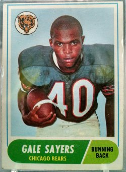 1968 Topps  Gale Sayers