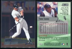2000  Stadium Club Chrome First Day Issue (No Serial #) Frank Thomas