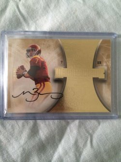 2013 Upper Deck Exquisite Matt Barkley Exquisite Magnificence