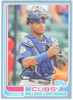 2017 Topps Archives Blue Willson Contreras
