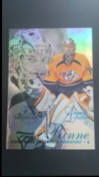 2012-13  Fleer Retro 1996-97 Flair Showcase Row 2 Design Legacy Collection #29 Pekka Rinne