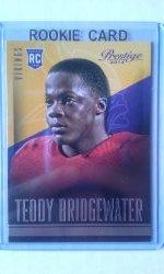 2014 Panini Prestige  Teddy Bridgewater