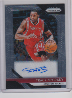 2018-19 Panini prizm tracy mcgrady