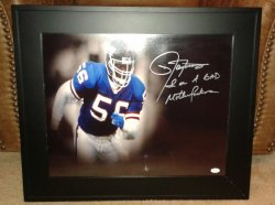 16x20 Signed & Inscribed Lawrence Taylor