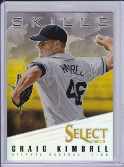 Craig Kimbrel 2013 Select Skills Prizm Gold /25