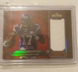 2012 Topps Triple Threads Jarius Wright