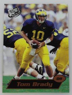 2000   Tom Brady Press Pass Rookie