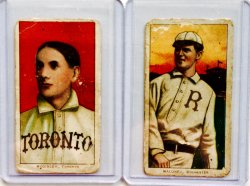 1911  T-206  McGinley (Sweet Caporal) Maloney (Piedmont)