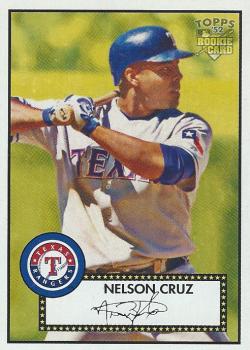 2006 Topps 52 Nelson Cruz