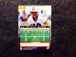 1997 Score Playbook Dan Marino #13 Back