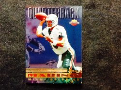 1997 Score Playbook Dan Marino #13