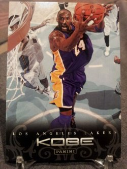 2012-13 Panini Kobe Anthology Kobe Bryant #168