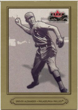 2002 Fleer Fall Classic Alexander, Grover