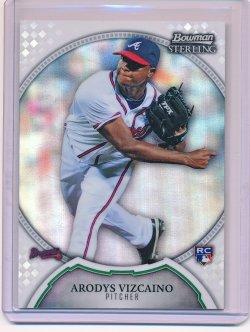 Arodys Vizcaino 2011 Bowman Sterling Refractor RC /199