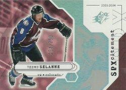 2003/04  SPx Selanne (SPxcitement)