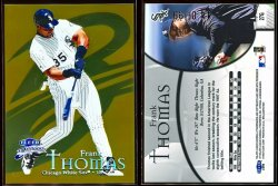 1999  Fleer Brilliants Gold Frank Thomas
