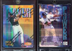1997  Finest Refractors Gold Frank Thomas