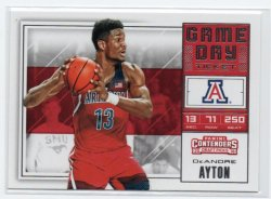2018-19 Panini Contenders Draft Picks Ayton, Deandre - Game Day Tickets