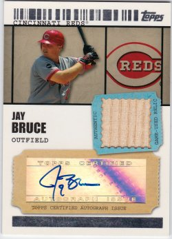 2009 Topps Ticket To Stardom Jay Bruce