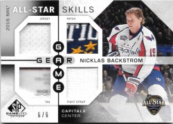 2016-17 Upper Deck SP Game Used Game Gear All-Star Skills Nicklas Backstrom
