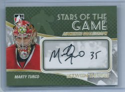 2011  ITG Between The Pipes  Marty Turco Stars Of The Game