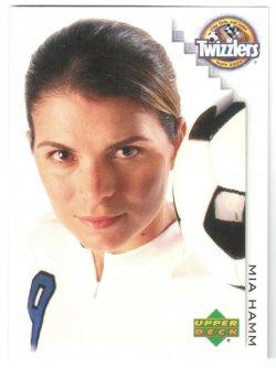 2002 Upper Deck Twizzlers Mia Hamm