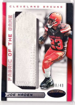 2016 Panini Certified Fabric of the Game Prime Joe Haden